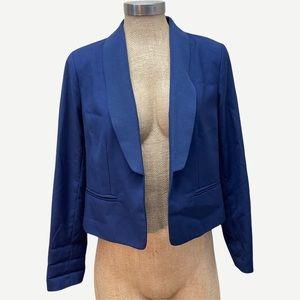 BB DAKOTA Navy Blue Open Blazer Jacket 6